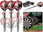 Dart set and Dartboard Combination